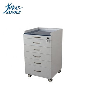 Dental Mobile Cabinet with 5 Drawers/five-pump movable side cabinet