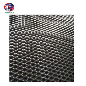 Diamond expanded aluminum wire mesh of wallpaper facade decoration