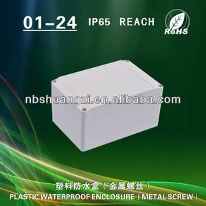 Hard plastic electronics project box