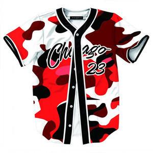 Hot Sale Sublimation Baseball Uniform Jerseys T-shirts