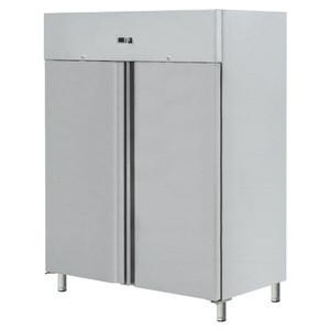 Kitchen display refrigerator 2 doors upright freezer with glass doors refrigerator freezer BN-UC1300R2G