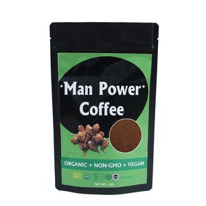 Natural Maca Tongkat Ali  Reishi Extract Ginseng Instant Coffee for Strongman Energy Drink