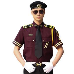 New Design Men's Suits Railway Security Guard Uniforms