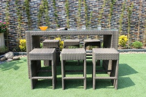 New Design Rattan Bar Sets Outdoor Furniture (style 2)