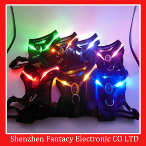 New style led collar harness for pet bog