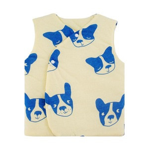 Newborn baby clothes sleeveless Cotton vest toddler clothing