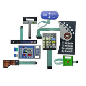 OEM Service Custom Tactile Control Graphic overlay Panel Waterproof Membrane Keypad