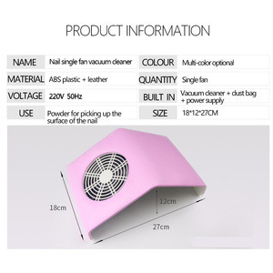 OEM/ODM Manicure specialty High-quality nail dust vacuum cleaner polisher for nail