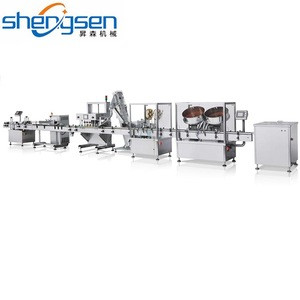 Pharmaceutical Machinery Tablet Counting And Filling And Capping Line