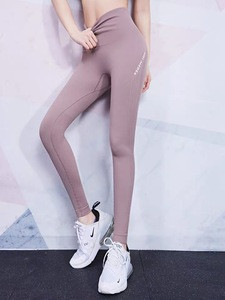 Plus size Breathable fitness Gym sport hight waist Yoga leggings for woman