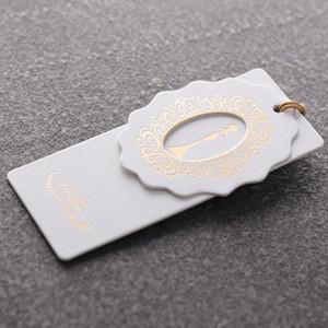Private custom garment hang tags clothing brand tags