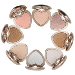 Private Label Cosmetics Single Glow Highlight Custom Baked Highlighter Makeup