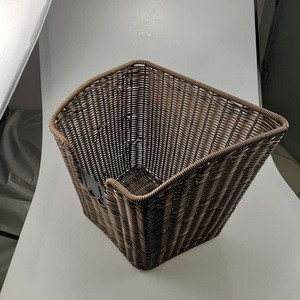 Top Selling Wicker Basket for Bicycle/Bicycle Basket