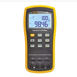 U822 Digital 100Hz/120Hz/1kHz Handheld Precision USB Portable Electric Bridge Measurement LCR Meter