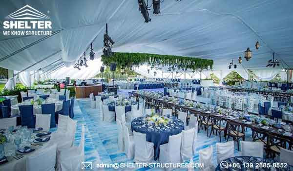 30 x 40m Tent with Curved Roof for Outdoor Wedding