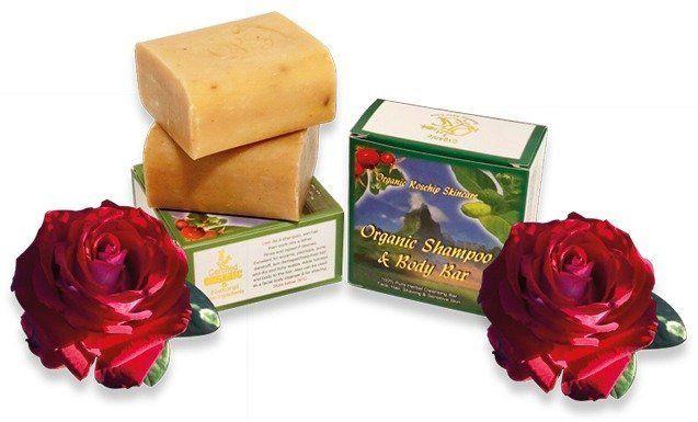 Organic Rosehip Shampoo & Body Bar 100g