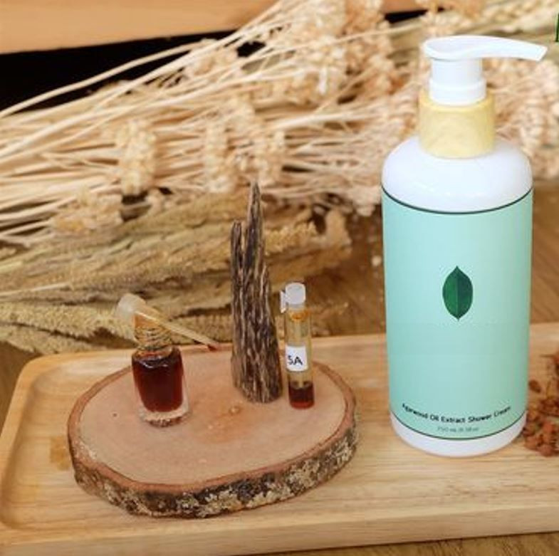 Agarwood Shower Cream