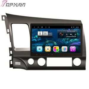 10 Inch 2 Din Car Radio For Honda CIVIC 2006 2007 2008 2009 2010 2011 Android 8.1 Multimedia Player Car GPS Navigation Wifi BT