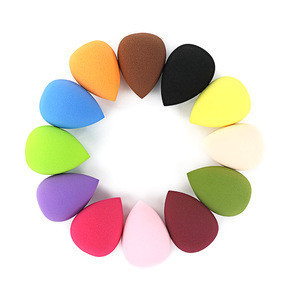 16 different colors China Wholesale Premium Big Size Super Soft  Make Up Beauty Sponge Blender 3D Latex Free Makeup Sponge