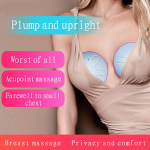 2020 Electric Breast Massage Women Vibrating Breast Massager Enhancer Enlargement Device Lady Breast Stimulator Dropshipping