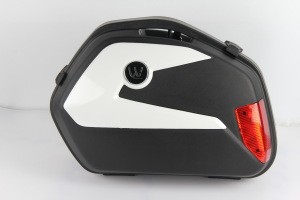 22Liters Motorcycle side box side case tail box