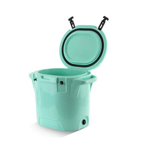 25 Quart Rotomolded ice Cooler Box bucket Camping Cooler for picnic