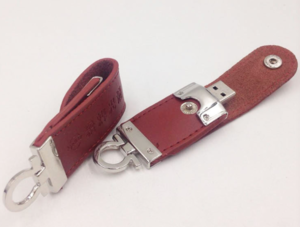 8GB Leather USB Flash  Memory  for Promotion Gift