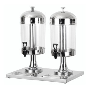 8L Two Tanks Big Juice Dispenser Beverage Machine commercial beverage dispenser Restaurant butter dispenser