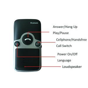 A3 Solar Bluetooth Handsfree Car Kit Speakerphone