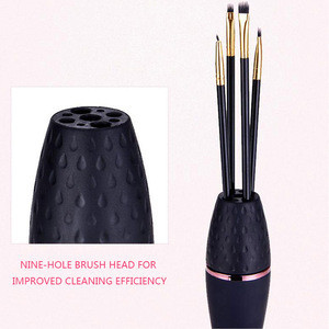 Automatic Portable Cosmetic Electric Spinning Make up Brush Machine Tool Large Cleaning and Drying Set