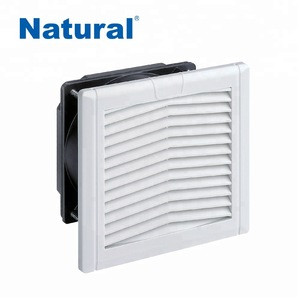 Cabinet cooling fan filter Panel /approved big airflow ventilation low power filter/ cooling compact  sleeve bearing fan