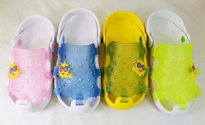 Carton kid slippers Child printed EVA slippers