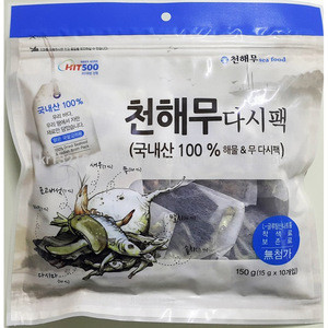 CHUNHAEMU Seaweed Soup Recipe Pack for various soup dishes, Korean Food