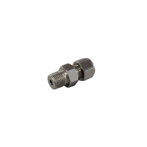 "Compression Fitting 1/16"" x 1/8"", Stainless Steel, Lava"