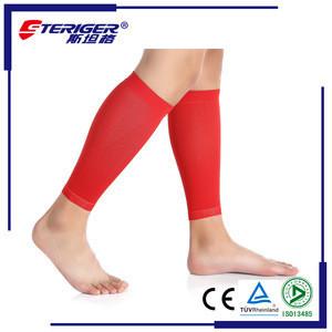 Custom design suitable for all sports decreasing pressure shin guard