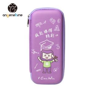 Custom EVA Kids School Portable Pencil Case Zipper Closure Pencil bag With Mesh Pocket