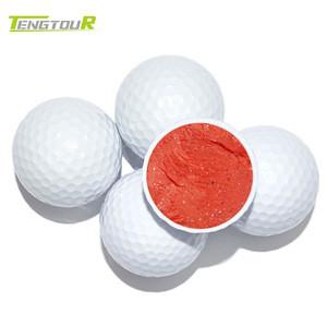 Custom Logo 2 3 4 5 Pieces Urethane/ Surlyn Golf Balls Emoji Ball Sport Ball Flashing Ball