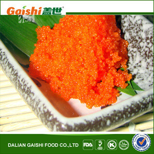 Different Colors Fresh Nutritions Salmon Roe