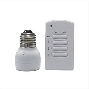 Digital Light Wireless Remote Control Switch for E27 Lamp Light Digital Light Wireless Remote Control Switch