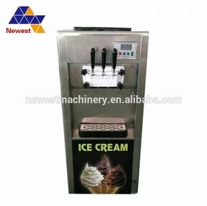 Excellent product 45-55L ice cream machine/soft ice cream maker/commercial frozen yugurt machine