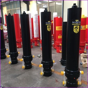Five Stage Telescopic Hydraulic Cylinder/Jack/Hoist For Truck&Trailer