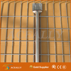 High quality, best cost price 2x2 galvanized welded wire mesh for fence panel