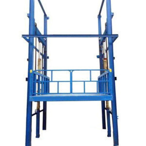 Hydraulic lifter 12v hydraulic goods elevator cargo lift with CE