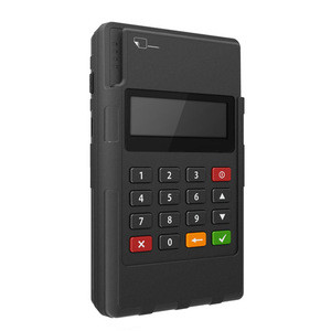 Magnetic Stripe Card reader/mobile payment bluetooth emv credit card pos with pinpad