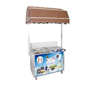 MATCH SPECIAL PRICE New Style instant rotate stick ice cream with fried ice cream for commercial CFMNH-006