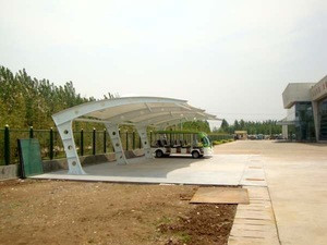 Membrane structure for parking