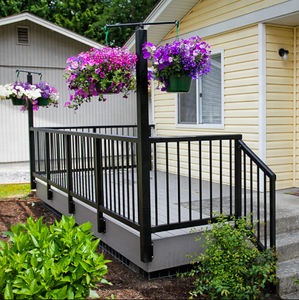 Metal Stair Handrail, Steel Balustrades Handrails, Wrought Iron Balusters