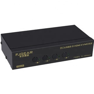 Multiple switch modes support 4k 2 port hdmi kvm switch