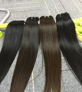 Natural hair china virgin hair extensions cuticle aligned mink hair