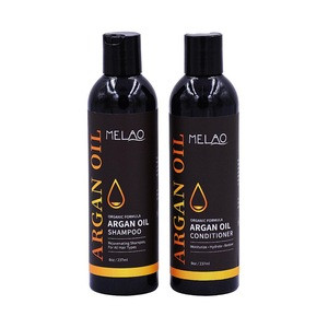 Natural hair products mens argan oil shampoo and conditioner for damaged hair